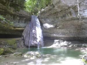 Cascade du Pain de Sucre en été (à 15 min)