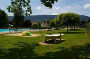 La piscine de Champagne en Valromey (à 1 min)